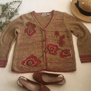🆕Sigurd Olsen Sport  /Hand knitted cardigan